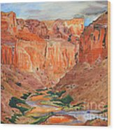 Grand Canyon Splendor Wood Print