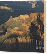 Grand Canyon Symphony Of Light And Shadow Wood Print by Bob Christopher