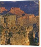 Grand Canyon - The Wonders Of Light And Shadow - 1a Wood Print