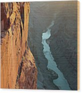 Grand Canyon Toroweap Point Morning Wood Print
