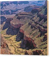 Grand Canyon Valley Trail Wood Print