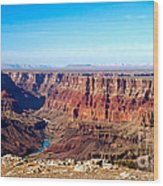 Grand Canyon Vast View Wood Print