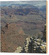 Grand Canyon View 6 Wood Print