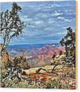Grand Canyon View IIi Wood Print