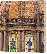 Grand Cathedral Of Guadalajara Wood Print