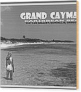 Grand Cayman Wood Print