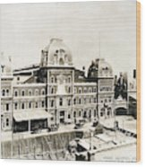 Grand Central, 1886 Wood Print