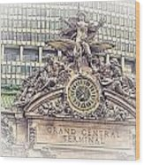 Grand Central Decor Wood Print