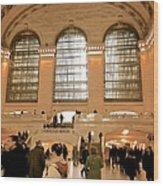 Grand Central 's Main Terminal Wood Print