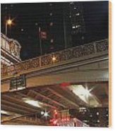 Grand Central Station At Pershing Square Wood Print