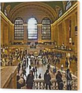 Grand Central Terminal Nyc Wood Print