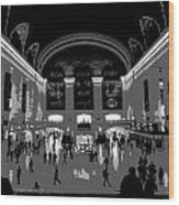 Grand Central Terminal Poster Wood Print