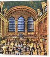Grand Central Terminal Wood Print