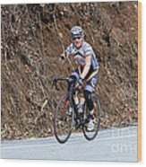 Grand Fondo Bike Ride Wood Print