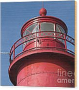 Grand Haven Red Wood Print
