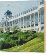 Grand Hotel Mackinac Island Ll Wood Print