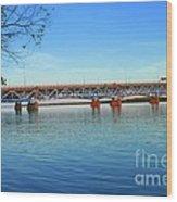 Grand Island Bridge 2 Wood Print