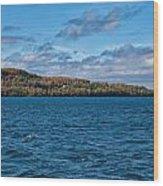 Grand Island Lake Superior Wood Print