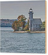 Grand Island Lighthouse. Wood Print