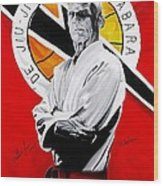 Grand Master Helio Gracie Wood Print