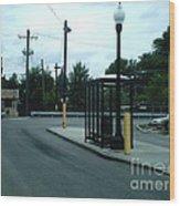 Grand/nordica Cta Bus Terminal Wood Print
