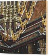 Grand Palace Bangkok Thailand 2 Wood Print
