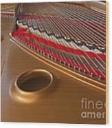 Grand Piano Wood Print