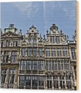 Grand Place Brussels Wood Print