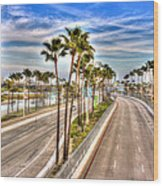 Grand Prix Of Long Beach Wood Print