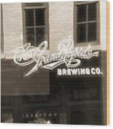 Grand Rapids Brewing Co Wood Print