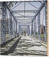 Grand Rapids Bridge Wood Print