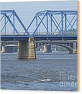Grand Rapids Crossings Wood Print