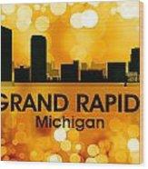 Grand Rapids Mi 3 Wood Print
