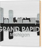 Grand Rapids Mi 4 Wood Print