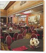 Grand Salon 03 Queen Mary Ocean Liner Wood Print