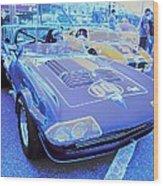 Grand Sport Corvette Wood Print