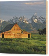 Grand Teton National Park , Wyhomestead Wood Print