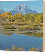 Grand Teton National Park 3 Wood Print
