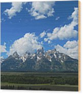 Grand Teton National Park Wood Print