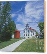 Grand Traverse Lighthouse Wood Print
