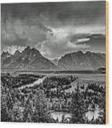 Grand View Wood Print