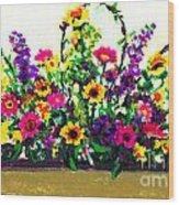 Grandchildren's Bouquet Wood Print