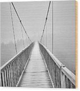 Mile High Bridge #2 Wood Print