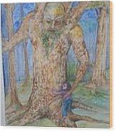 Grandfather Tree Wood Print
