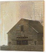 Grandfather's Barn Wood Print