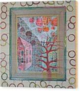 Grandma In A Tree - Framed Wood Print
