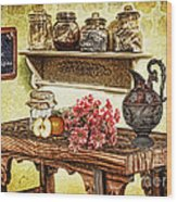 Grandma's Kitchen Wood Print