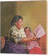 Grandmas Love Wood Print by Colin Bootman