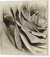 Grandma's Rose Wood Print