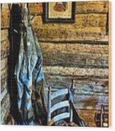 Grandpa's Closet Wood Print